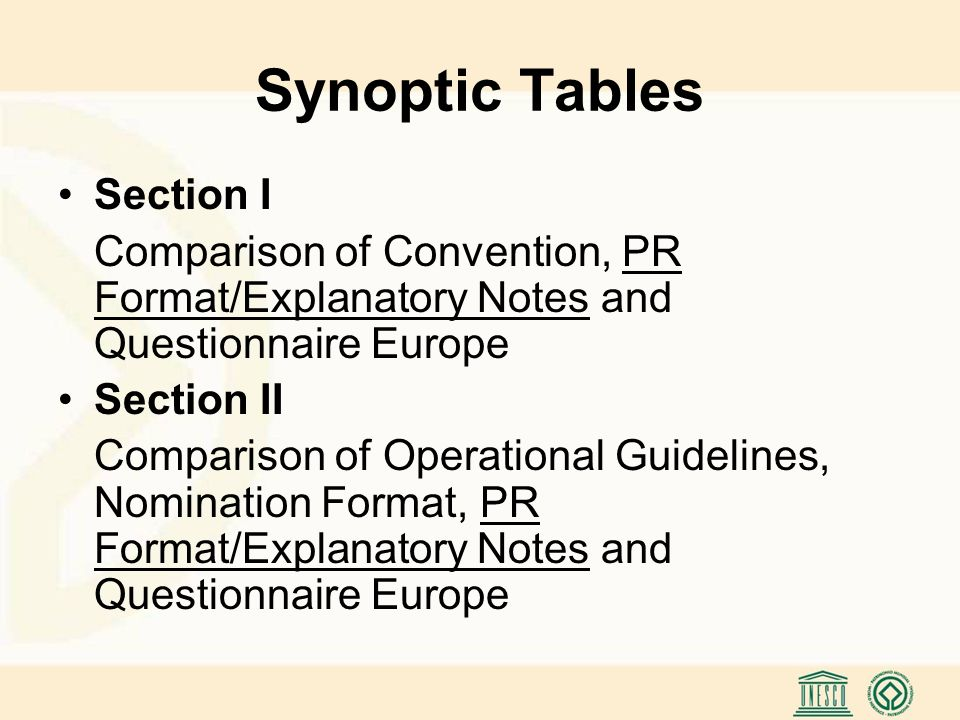 General Structure Types of questions Yes/No and multiple choice: Quantitative Data (quick to answer, suggest measurability and comparability, graphical presentation) Text: Qualitative Data (specific problems, comments, assessments, experiences, proposals, better understanding of the situation) Actions taken or proposed distributed over several paragraphs