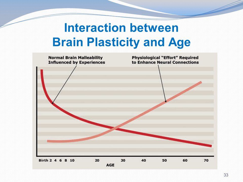 33 Interaction between Brain Plasticity and Age