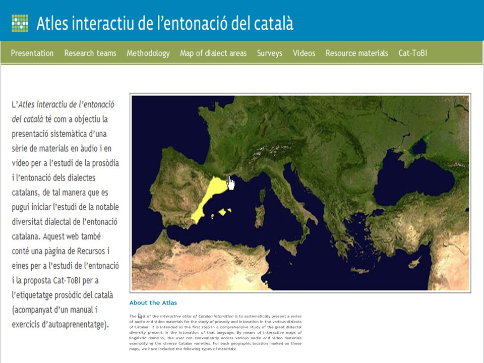 Aims To propose a unified transcription system for Catalan intonation and its dialectal varieties, Cat- ToBI.