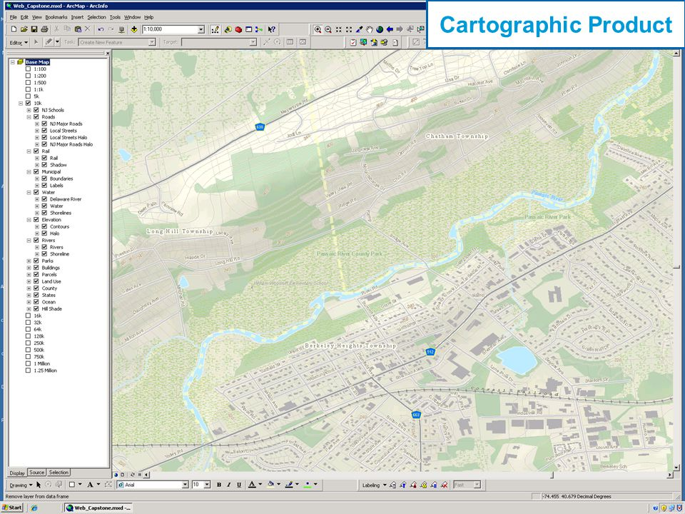 16 Cartographic Product