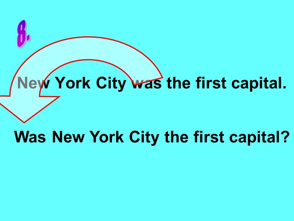 New York City was the first capital. Was New York City the first capital