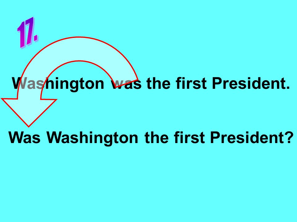 Washington was the first President. Was Washington the first President