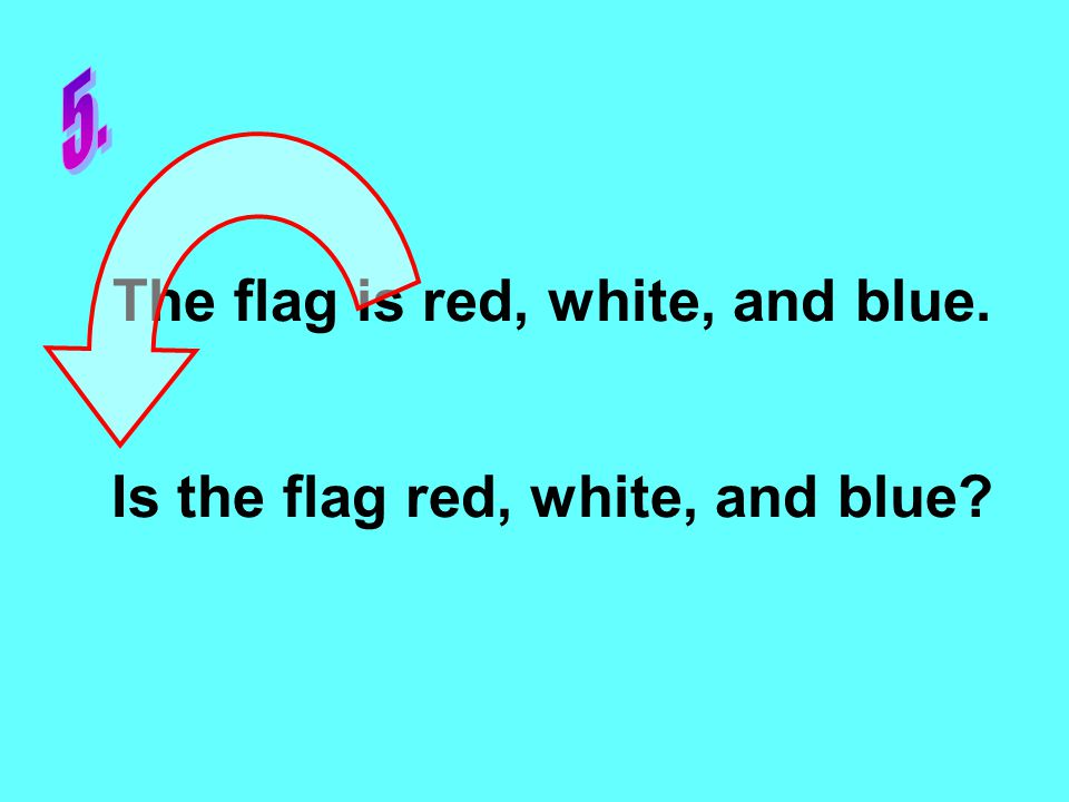 The flag is red, white, and blue. Is the flag red, white, and blue