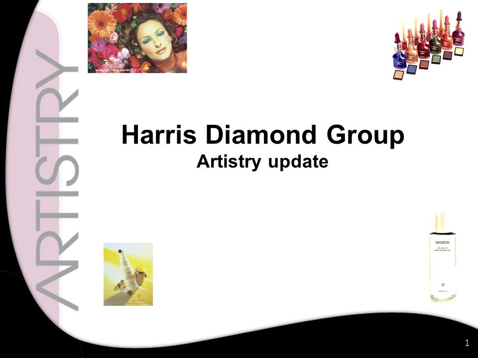 1 Harris Diamond Group Artistry update