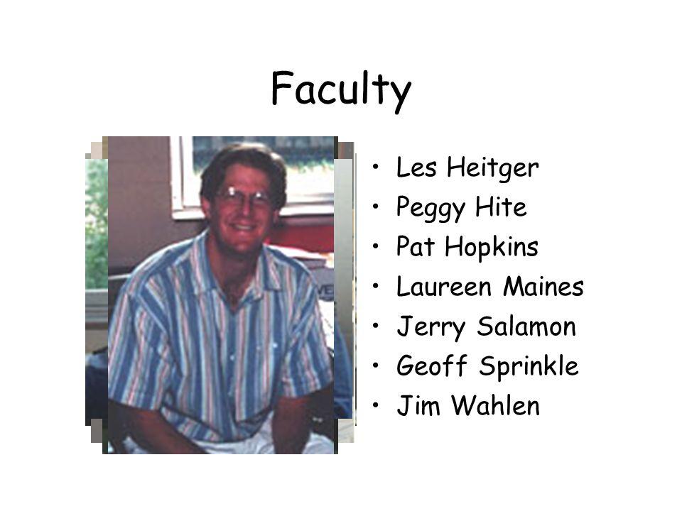Faculty Steve Baginski Daniel Beneish Walt Blacconiere Joe Fisher Jim Grandorf David Greene Mike Groomer
