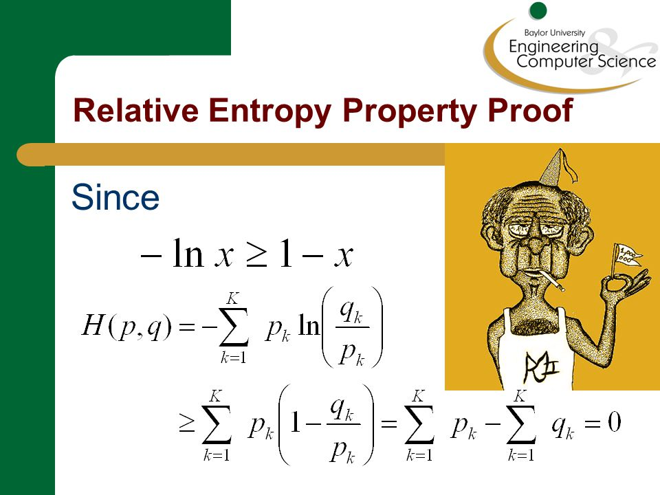 Uniform Probability is Maximum Entropy Relative to uniform: Thus, for K fixed, How does this relate to thermodynamic entropy?