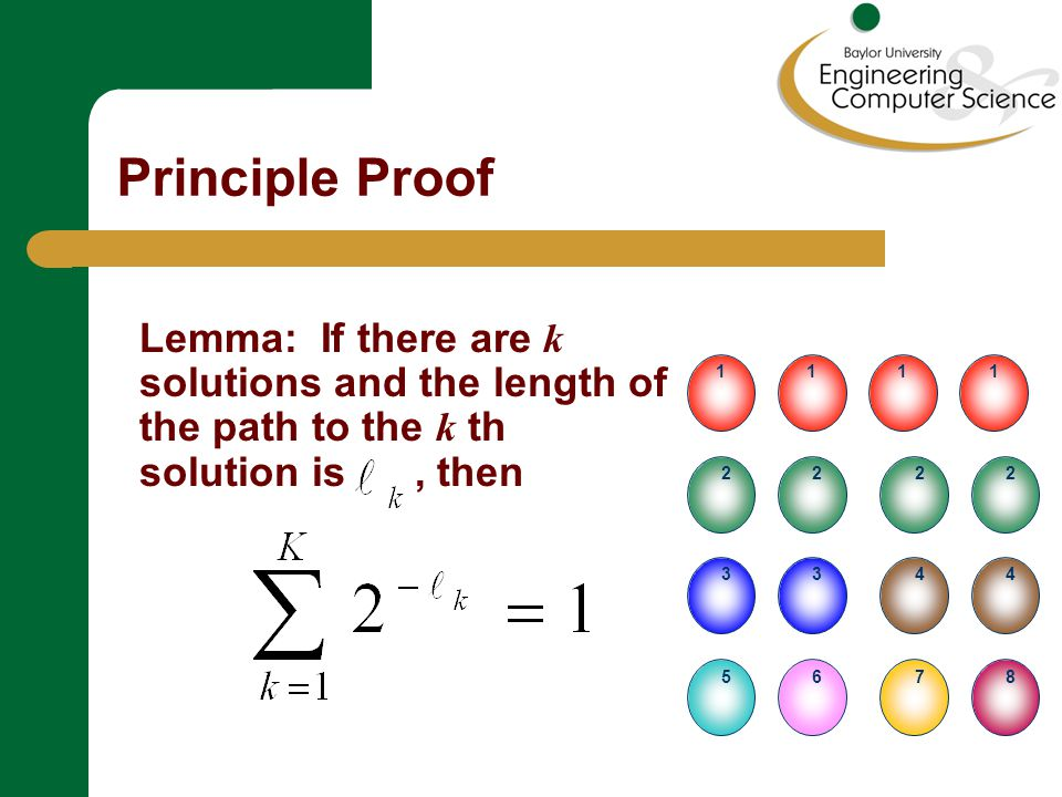 Principle Proof = the relative entropy with respect to Since the relative entropy always is nonnegative...