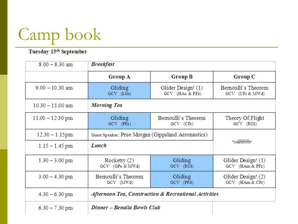 Camp book