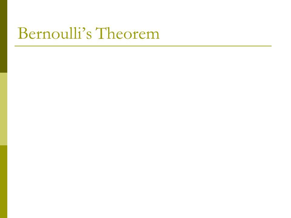 Bernoulli's Theorem