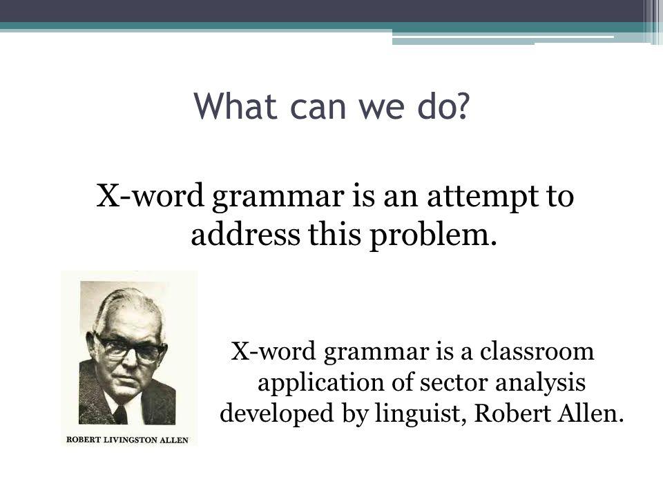 Patterns vs.Rules It is not a prescriptive grammar, focusing on rules.