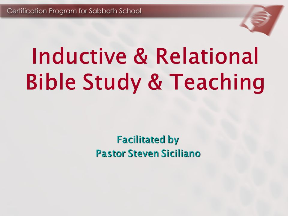 Four-step process for conducting Sabbath School classes that get people involved and lead to genuine discovery.