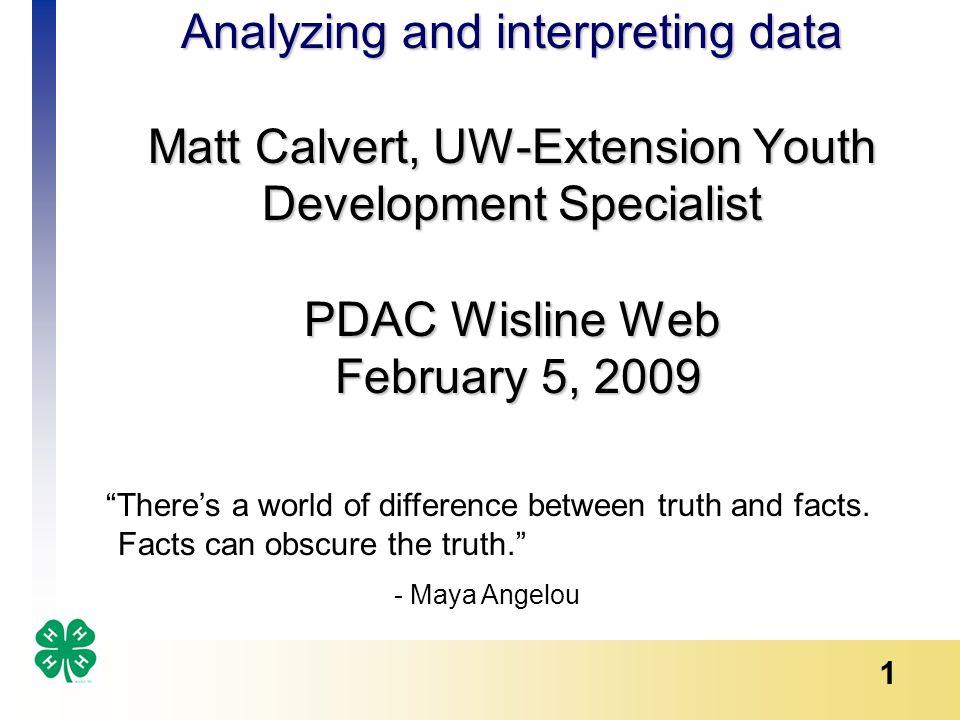 2 True or False.Complex analysis impresses people.
