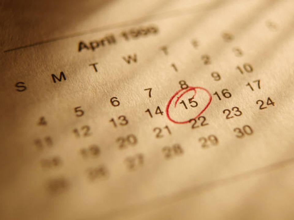 Reporting Dates