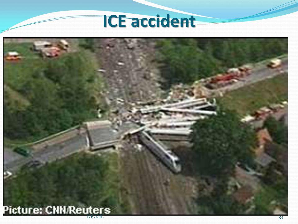 ICE accident 33DFCCIL