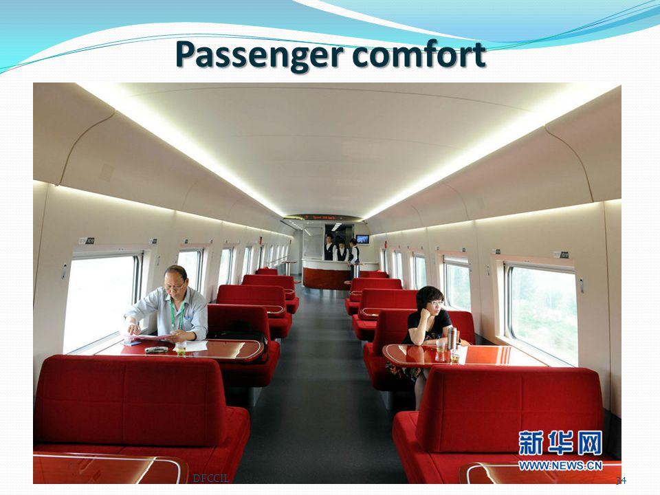 Passenger comfort 34DFCCIL