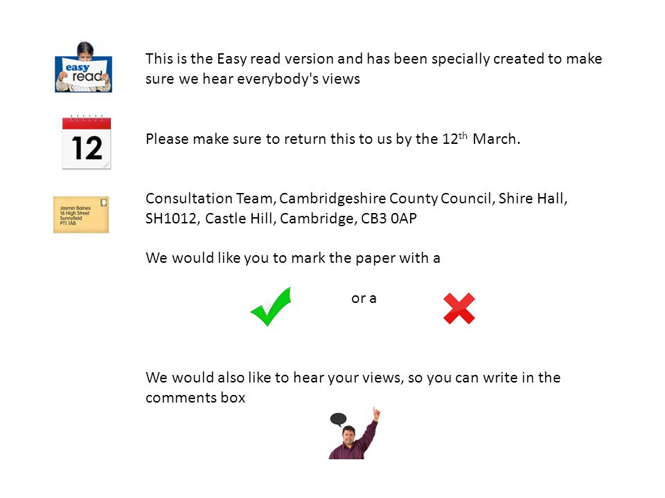 Section One We have written a transport policy and want your views.