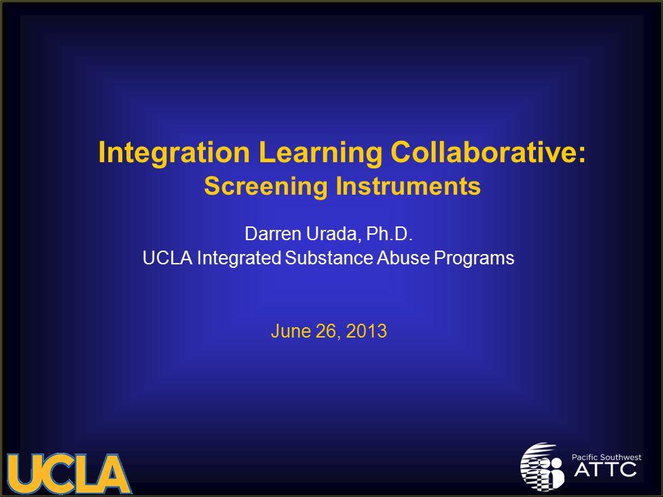 Darren Urada, Ph.D.