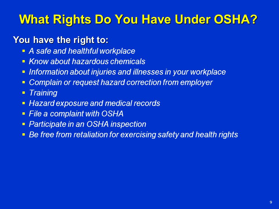 Session Objectives  Discuss the benefits of an effective safety and health program.
