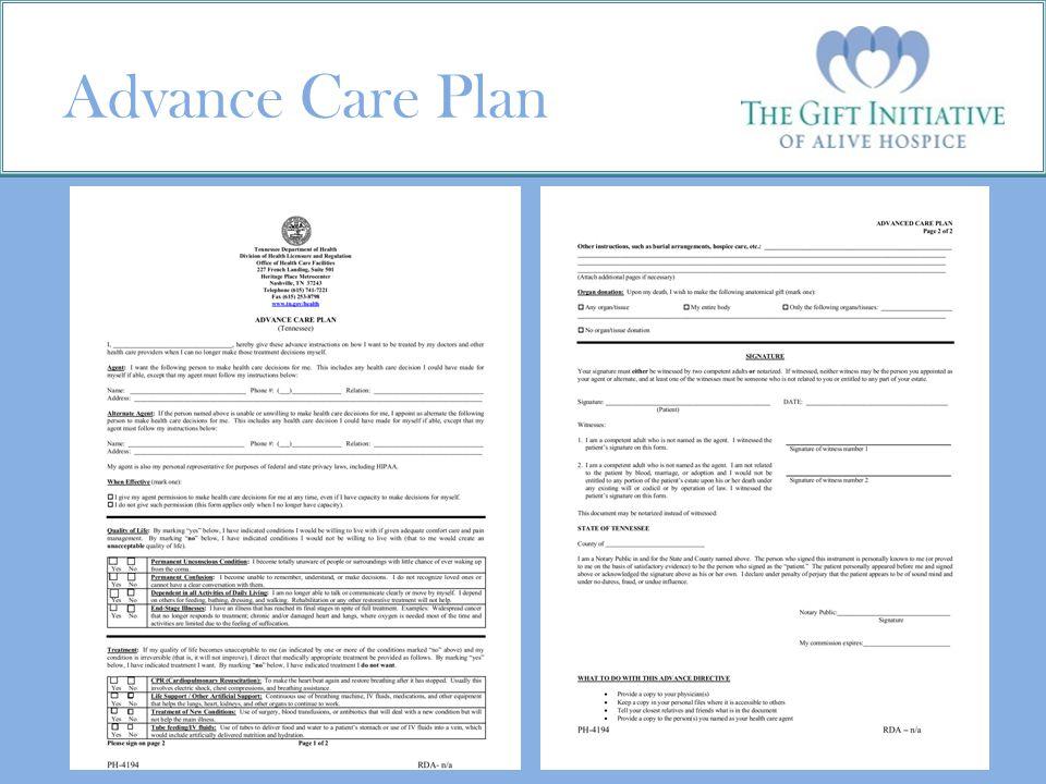 Advance Care Plan