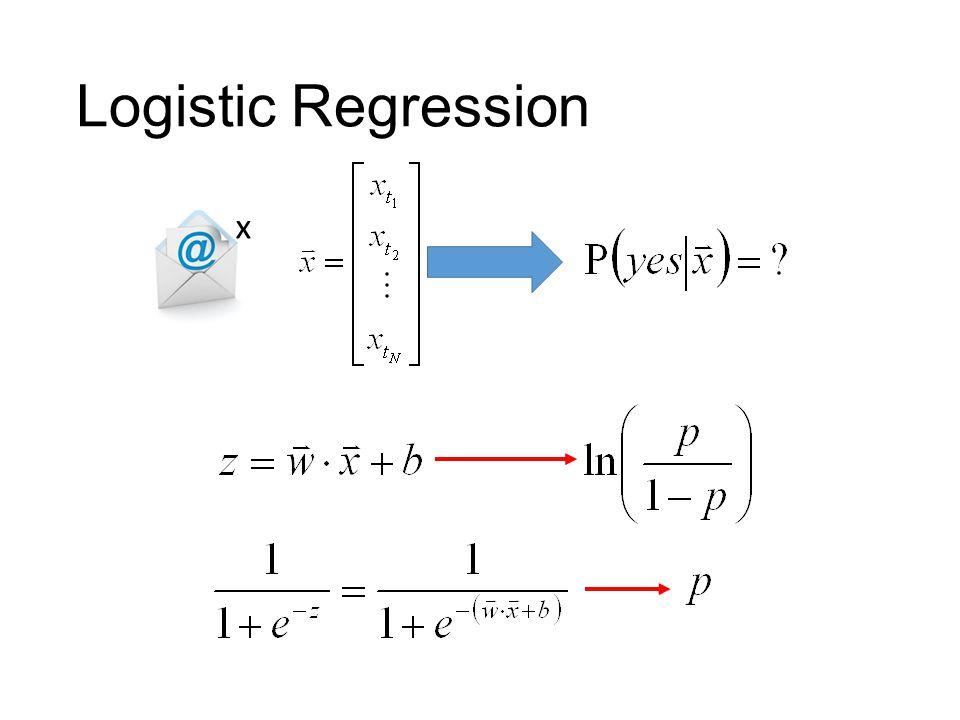Logistic Regression x