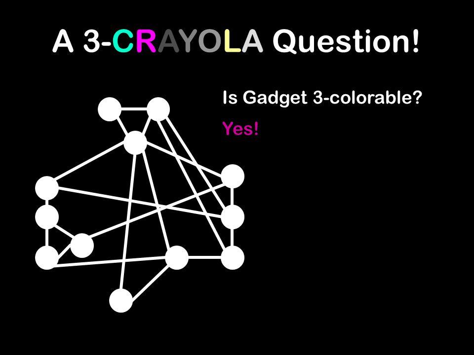 A 3-CRAYOLA Question!