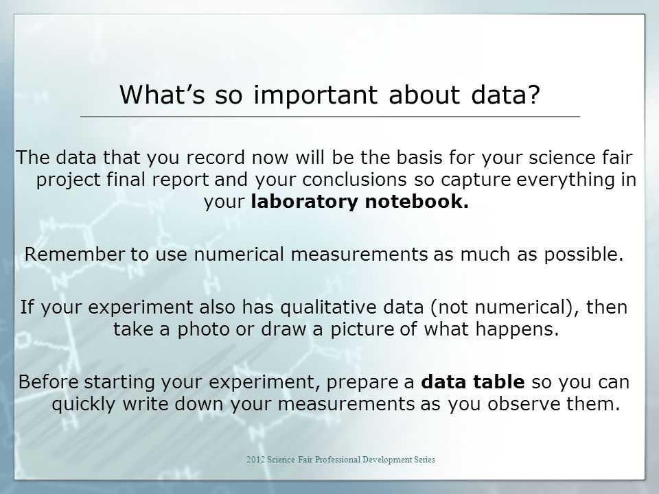 What's so important about data.