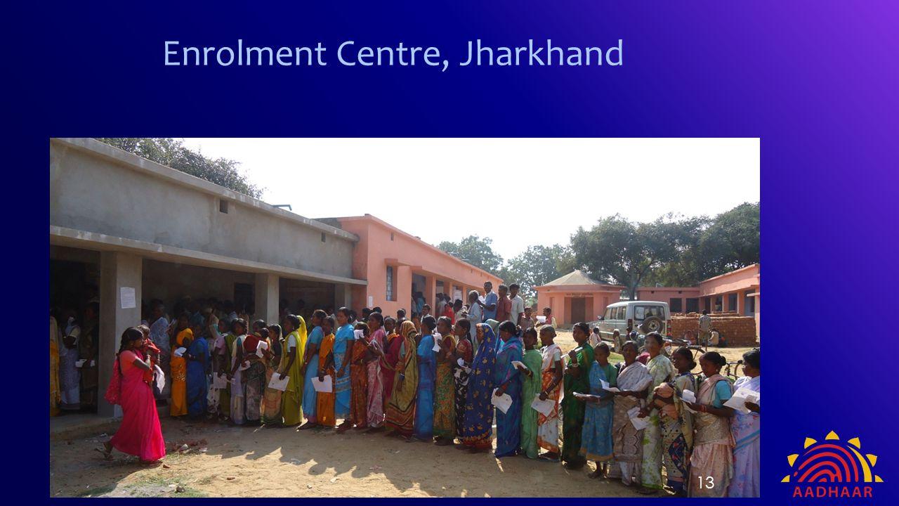 Enrolment Centre, Jharkhand 13