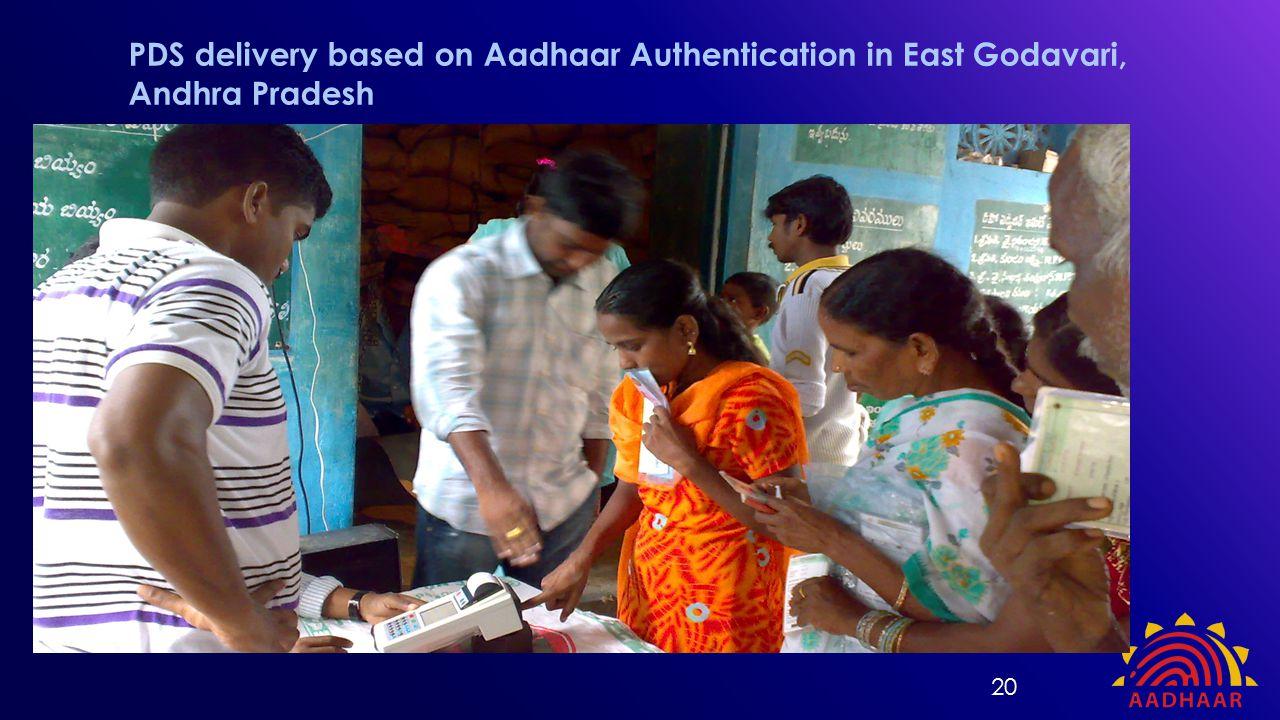 PDS delivery based on Aadhaar Authentication in East Godavari, Andhra Pradesh 20