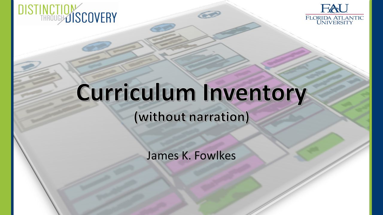 Gaps and Overlaps In addition to the program courses, addressed DTD SLOs, and obtained cognitive levels, a curriculum inventory can assist you in identifying gaps and overlaps in a curriculum.
