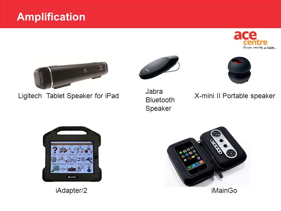 Amplification Ligitech Tablet Speaker for iPad iMainGoiAdapter/2 X-mini II Portable speaker Jabra Bluetooth Speaker