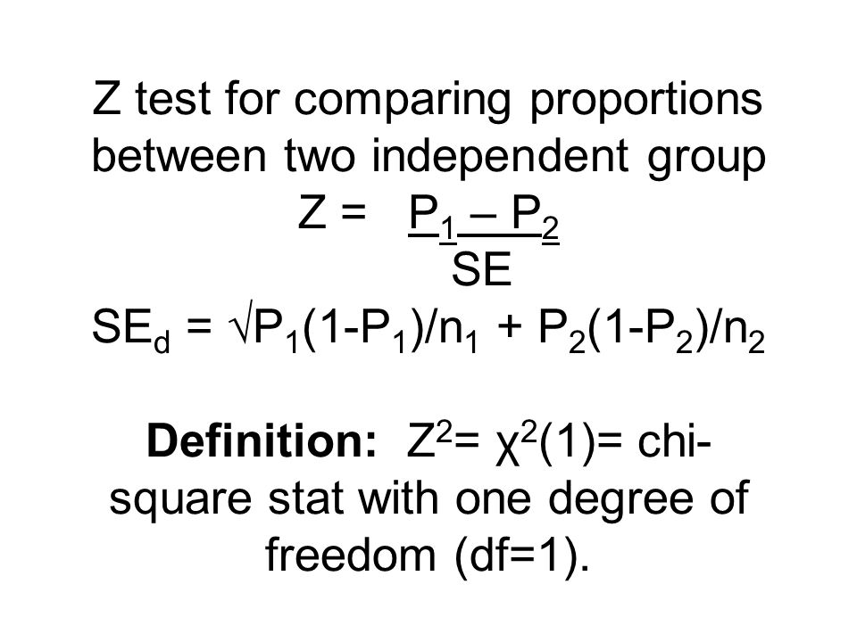 What if there are many (k) groups / many proportions to compare and we worry about multiplicity.