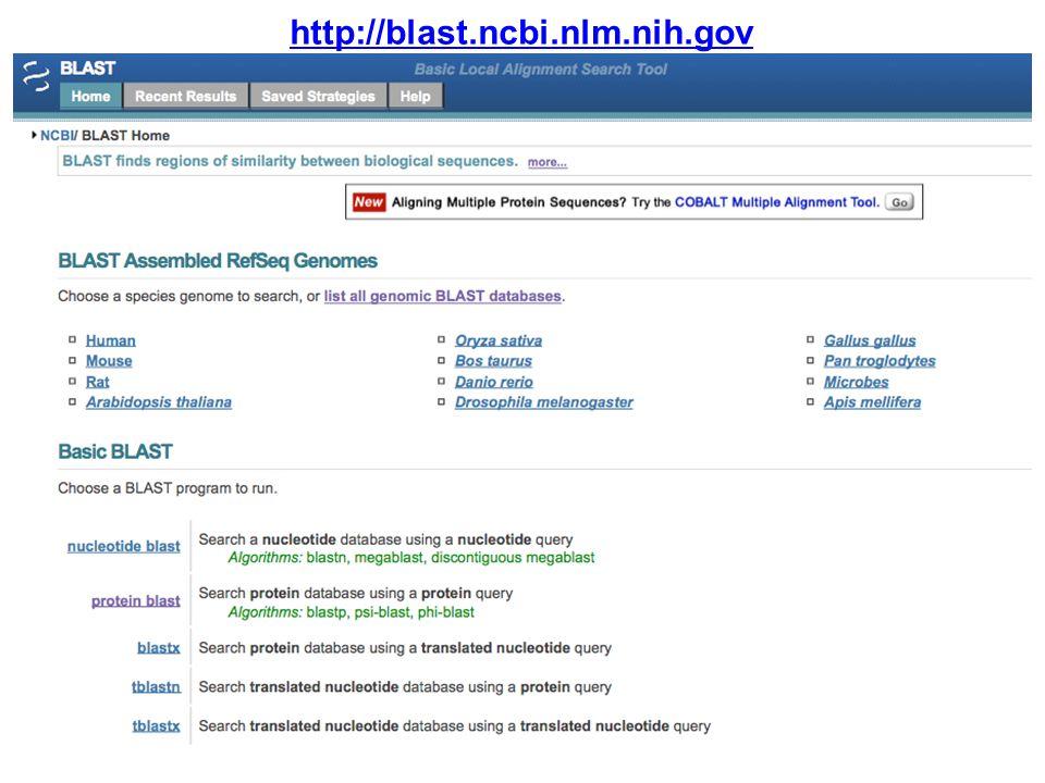 http://blast.ncbi.nlm.nih.gov