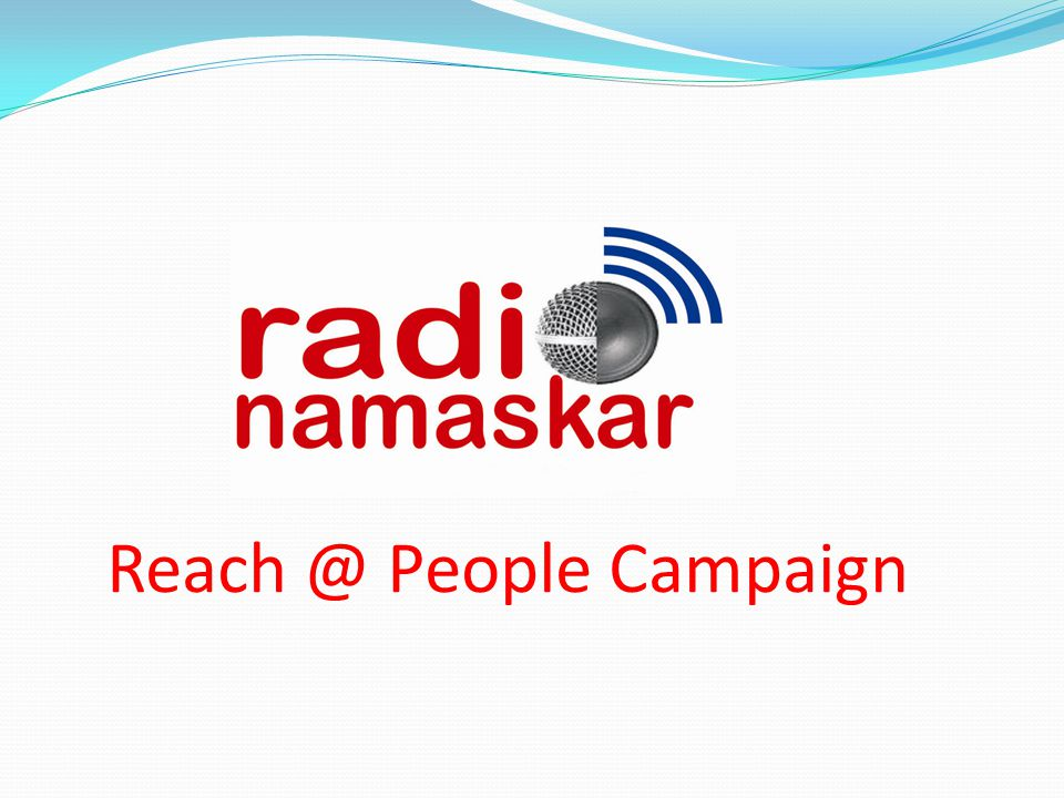Reach @ People Campaign