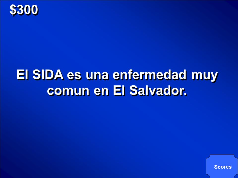 © Mark E. Damon - All Rights Reserved $300 Haz una frase con: SIDA. Haz una frase con: SIDA.