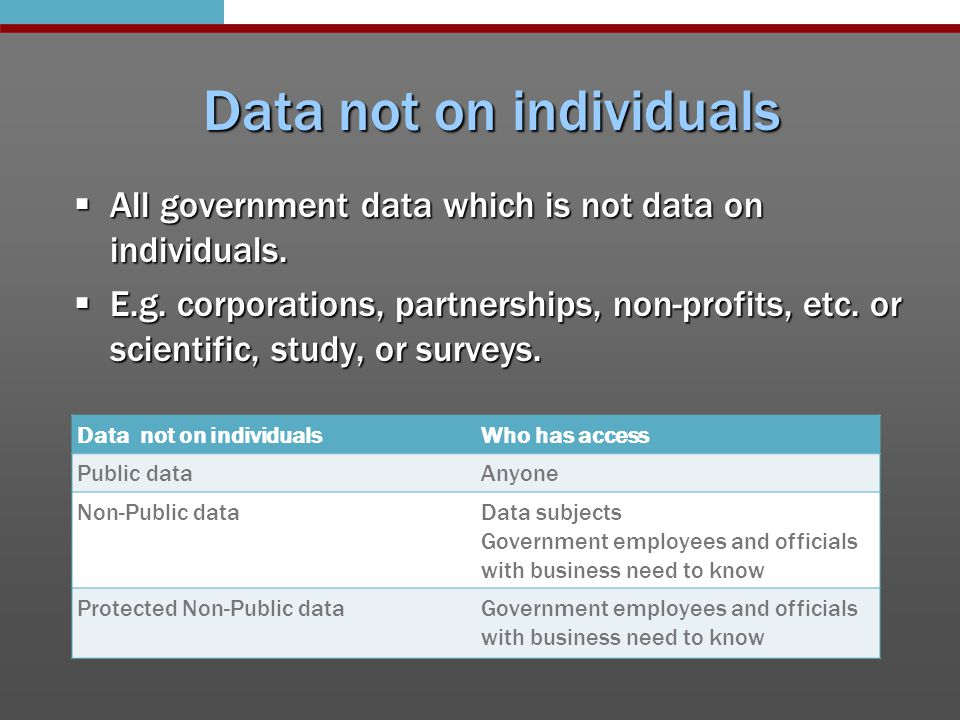 Electronic data  Telecommuting can create government data not stored at city hall  Still considered government data regardless of its location  Consider technology policy regulating use and storage of government data on personal computers