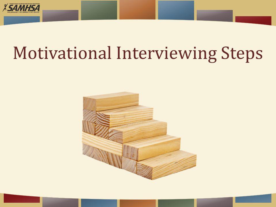 Motivational Interviewing Steps