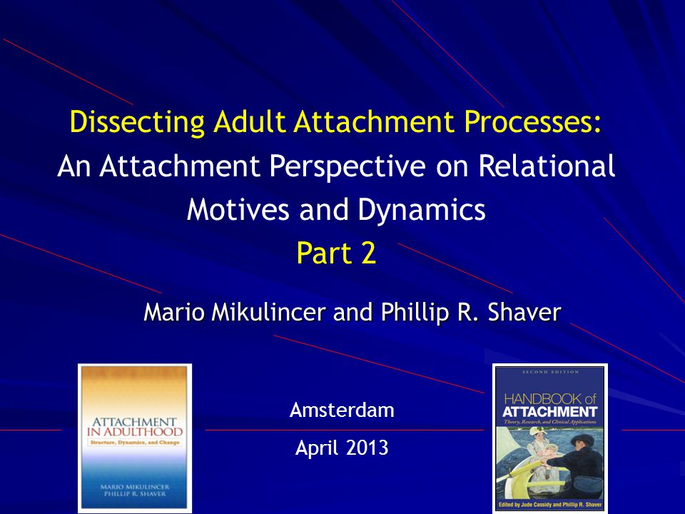 Overview Attachment security as a resilience resource Review of findings from studies showing that attachment security, both dispositional and experimentally induced, facilitates emotion regulation and mental health Review of key findings showing that being involved in a relationship with a sensitive and supportive romantic partner, group leader, team co-worker, or therapist has long-term beneficial effects on attachment-specific cognitions and feelings as well as broader psychological functioning