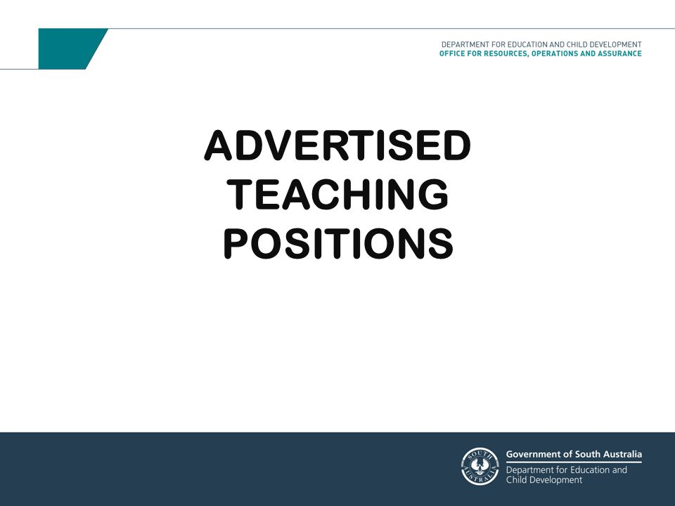 Advertising allows preschools the greatest opportunity to select their own staff whilst protecting the industrial rights and existing guarantees of permanent employees The Local Selection Panel comprises the Preschool Director as Chairperson and an AEU representative provided by the AEU