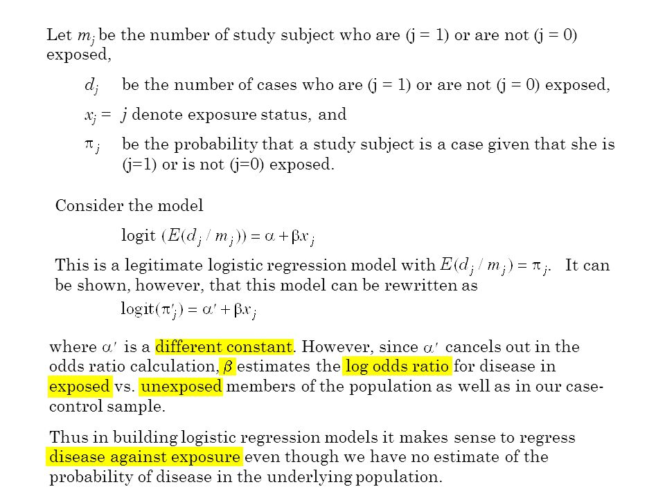 Consider the model logit This is a legitimate logistic regression model with.