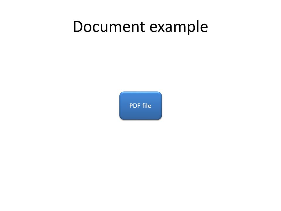 Document example PDF file