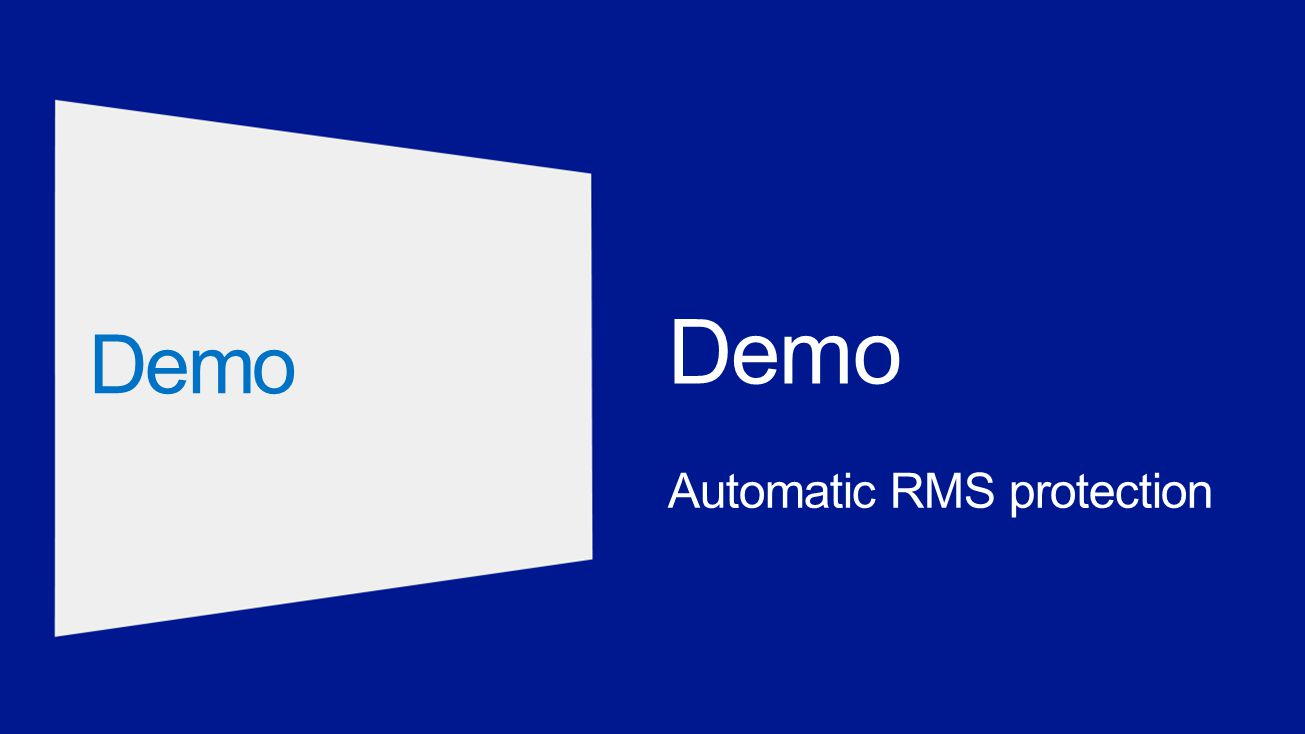 Automatic RMS protection Demo