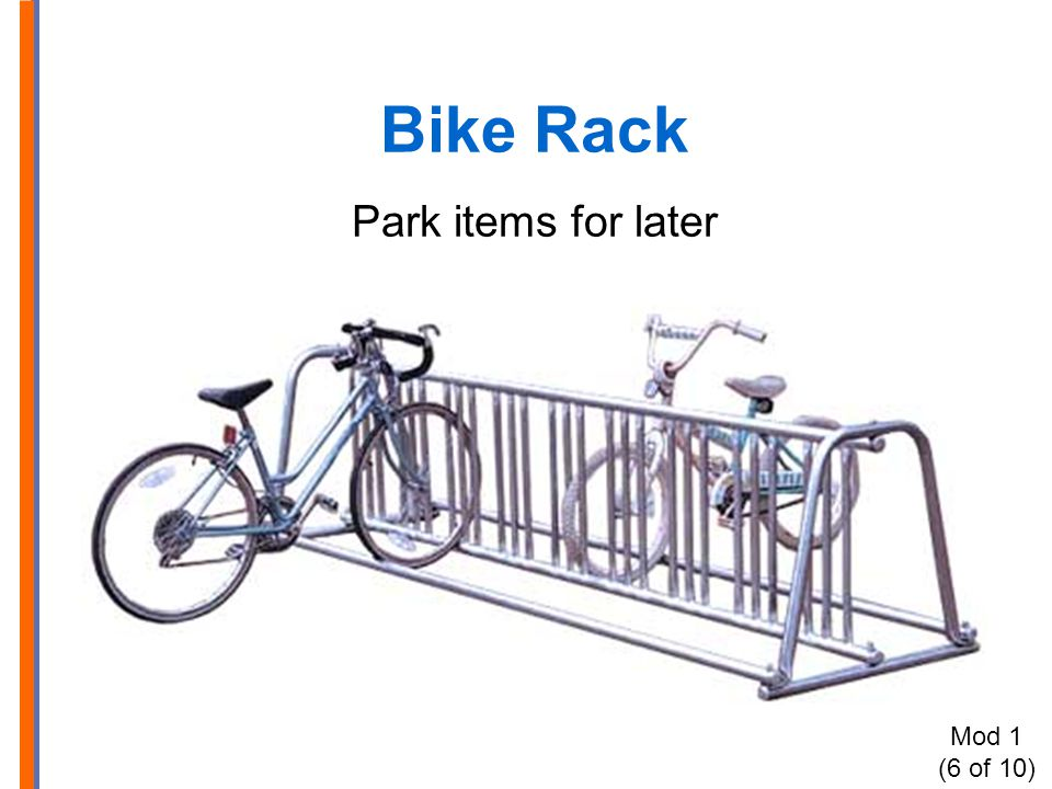 Bike Rack Park items for later Mod 1 (6 of 10)