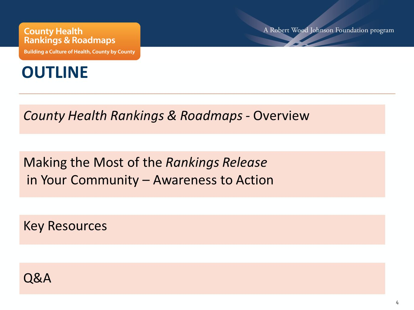 35 OTHER WAYS TO USE THE RANKINGS RELEASE ‣ Use social media tools to spread the news – join the conversation at #HealthRankings ‣ Tell your story.