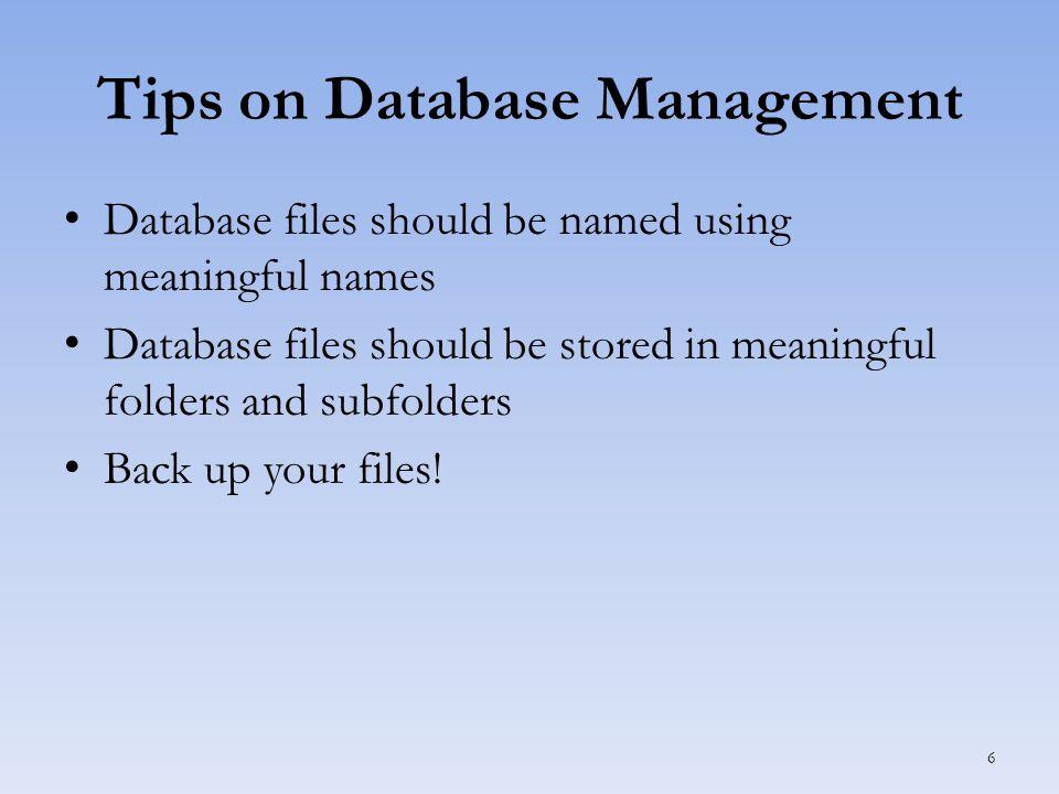 Using Table Views Datasheet View 27 Active record