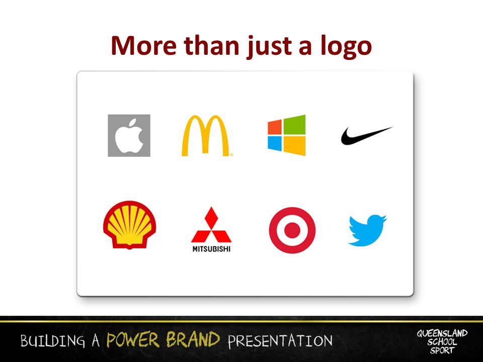 More than just a logo