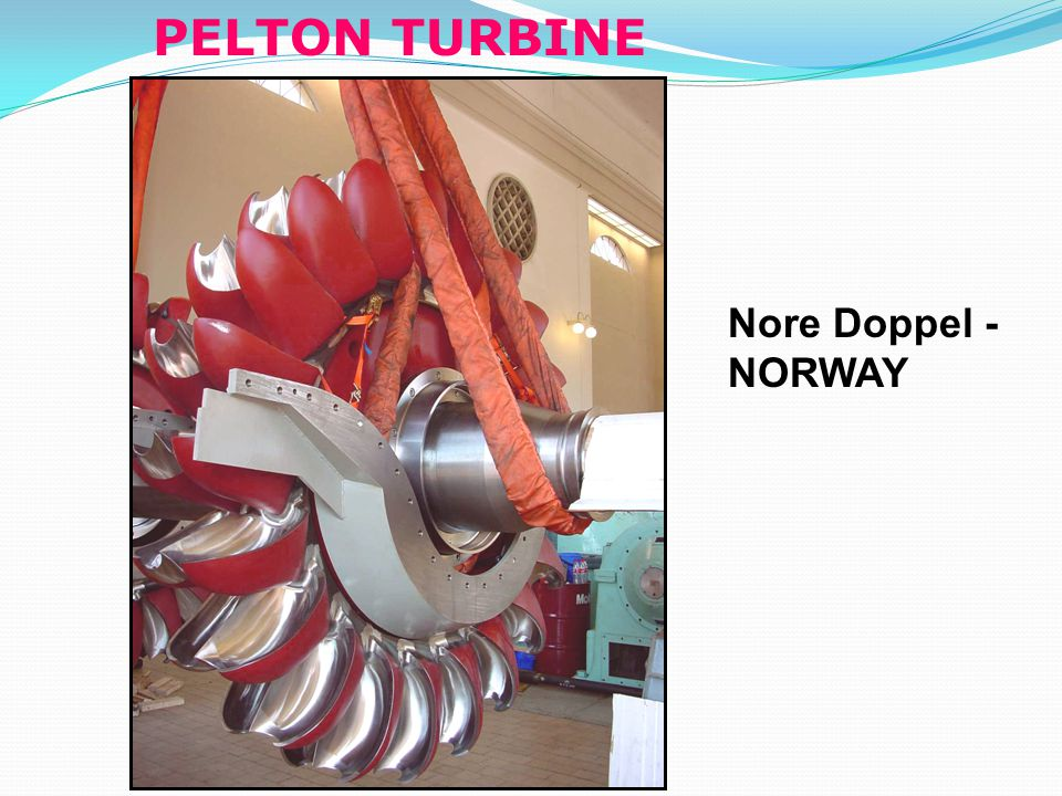 PELTON TURBINE Nore Doppel - NORWAY