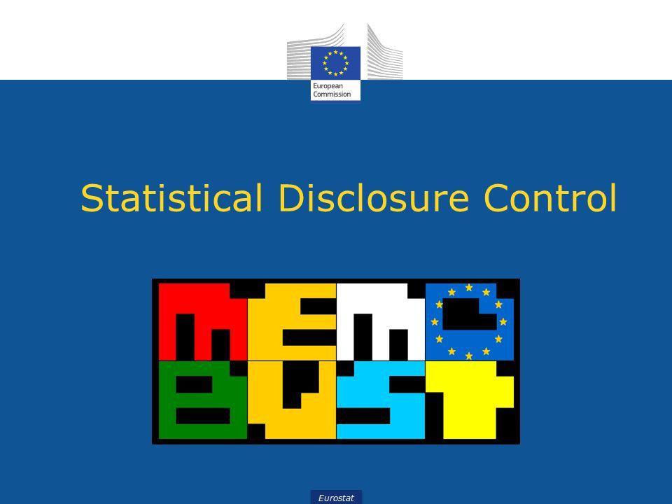 Eurostat Statistical Disclosure Control