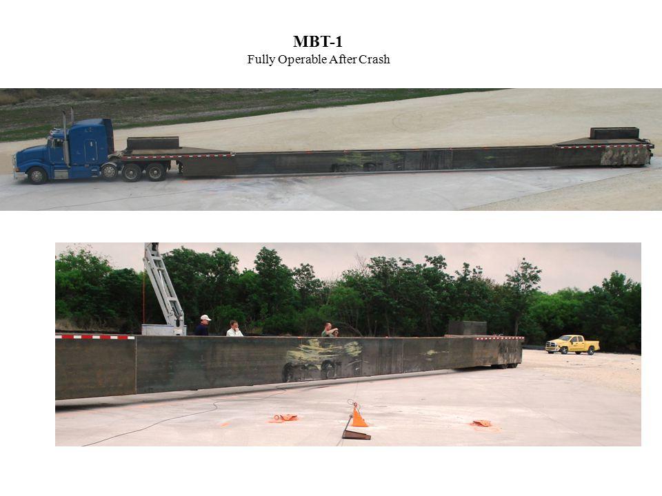 MBT-1 Fully Operable After Crash Balsi – Jammed