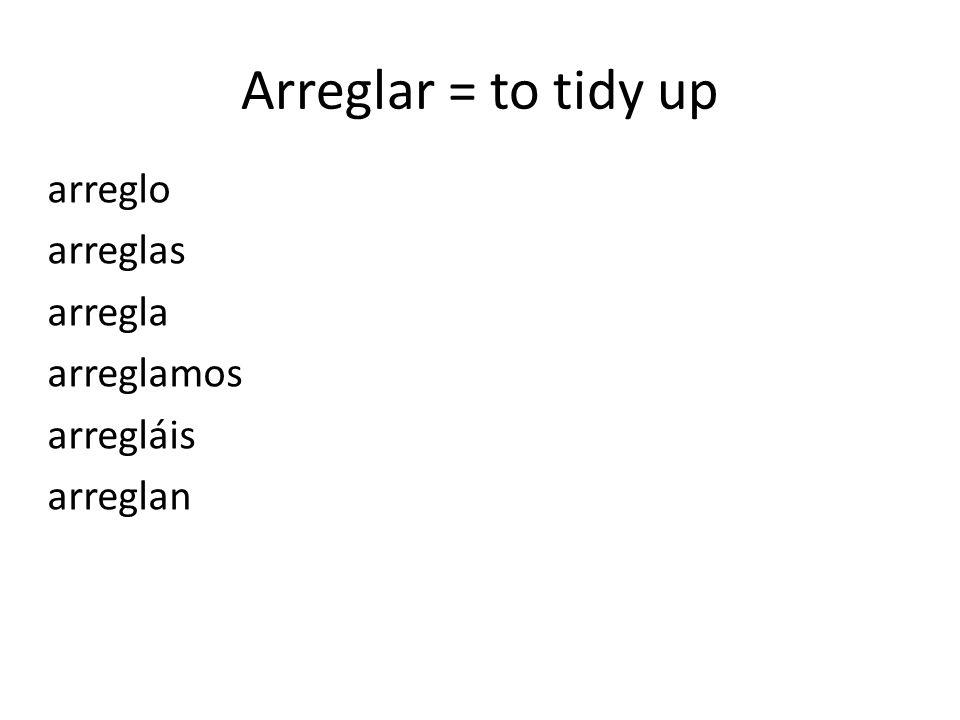 Prueba! Conjugate the following verbs: Tocar and montar.