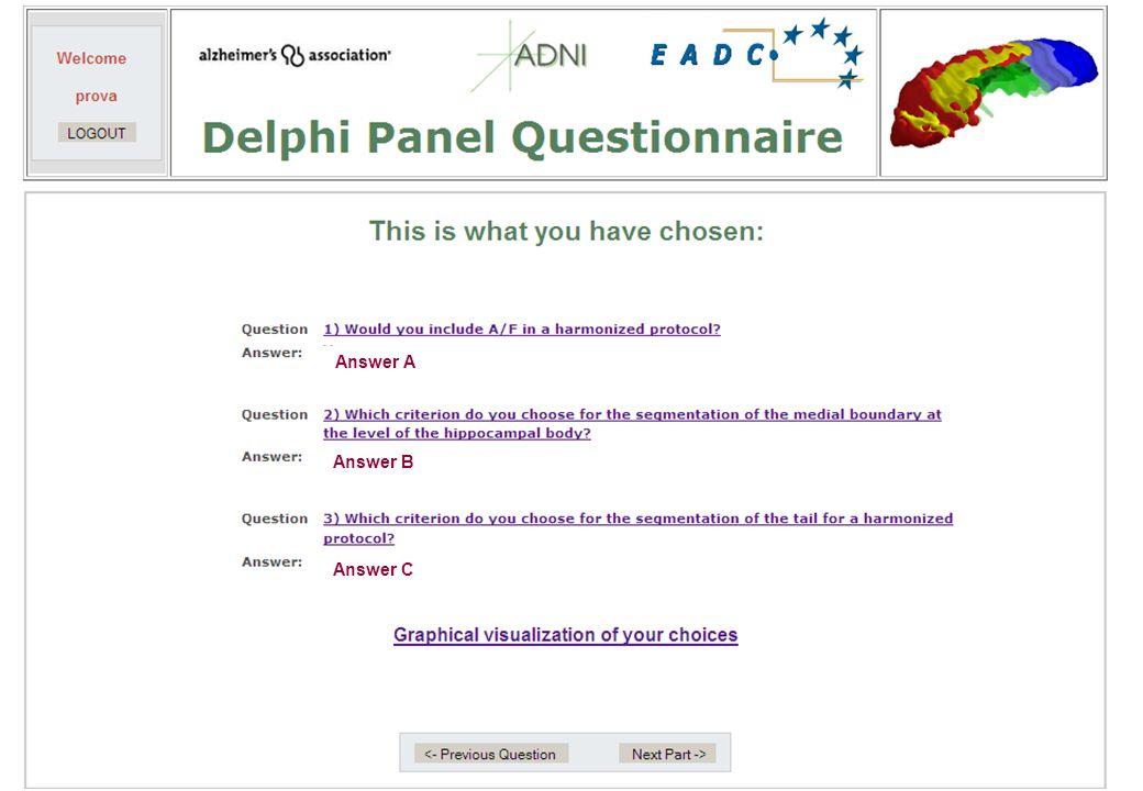 Answer C Answer A Answer B
